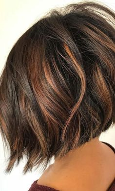 35 Short Chocolate Brown Hair Color Ideas to Try Right Now, Short Chocolate Brown Hair Color Ideas Tell me who does not love these chocolate brown hair colors? Due to its naturality, 35 short chocolate brown . Brown Hair Shades, Brown Hair With Blonde Highlights, Brown Ombre Hair, Short Brown Hair, Brown Balayage, Light Brown Hair, Brown Hair Colors, Dark Hair, Dark Chocolate Brown Hair