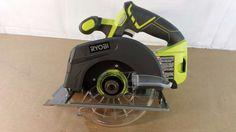 Ryobi P507 18v 6-1/2 in circular saw, Tools, Home, Repair 12272016.31 #Ryobi