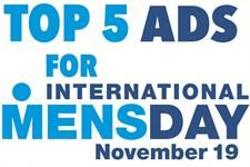 Take a look at the top 5 ads for International Men's day- from Ladverts to Dadverts