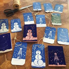 This years Christmas tags are finished. Time to wrap some presents. Christmas Activities, Christmas Crafts, Christmas Tags Handmade, Eraser Stamp, Stamp Carving, Handmade Stamps, Linoprint, Grafik Design, Print Patterns