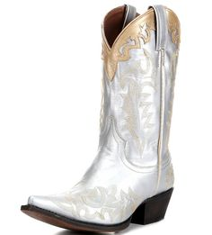 Women's Showstopper Boot - Silver Gold on www.countryfitter.com