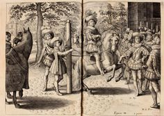 Dariusz caballeros: Antoine de Pluvinel - images from the treatise part 1