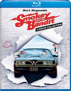3 Movie, Movie Stars, Jerry Reed, Jackie Gleason, Smokey And The Bandit, Burt Reynolds, Hollywood Cinema, First Class Shipping, Movie Collection