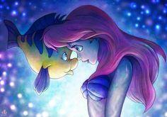 Ariel and Sebastian <3
