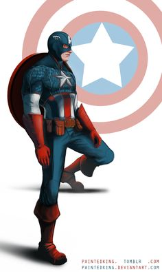 Captain America by Painted King