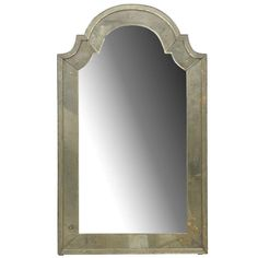 Classic Venetian Style Mirror with Bonnet Crest | From a unique collection of antique and modern wall mirrors at https://www.1stdibs.com/furniture/mirrors/wall-mirrors/