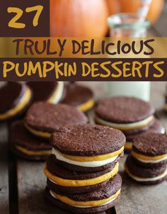 27 Pumpkin Desserts That Are Perfect For Fall - can't wait to try the Dark Chocolate-Espresso Pumpkin Bread Pudding with Salted Caramel Sauce!!!!