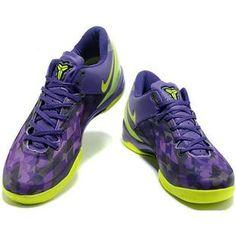 http://www.asneakers4u.com/ Nike Kobe 8 System Easter Purple/Black/Yellow