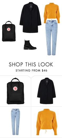 """""""Winter casual"""" by deedee4202 on Polyvore featuring Fjällräven, MANGO, Miss Selfridge, Topshop, Mulberry, Winter, casual, coat, fjallraven and skam"""