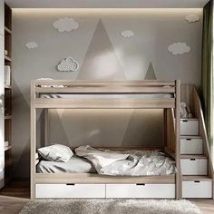 """Awesome """"modern bunk beds for boys room"""" detail is readily available on our . - Awesome """"modern bunk beds for boys room"""" detail is readily available on our website. Check it o - Bunk Beds Boys, Bunk Bed Rooms, Bunk Beds With Stairs, Cool Bunk Beds, Kid Beds, Ikea Bunk Bed, Toddler Bunk Beds, Bunk Beds With Storage, Best Bunk Beds"""