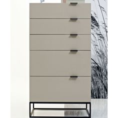 Argo Furniture Devitto Chest with Metal Base