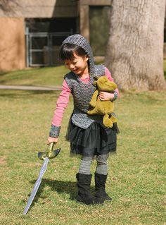 Such fun crochet kids dressup.