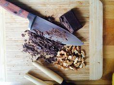 add chocolate chip and walnuts