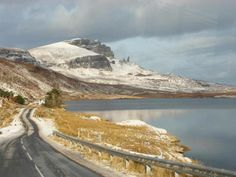 The Storr (and main road from Portree) - pinched from Netty le Blanc (Staffin, Isle of Skye, Scotland)
