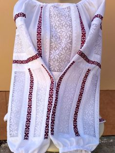 Beautiful embroidered shirt Ukrainian blouse with rishelie technique Flower embroidered shirt Ethnic clothes Modern folk style by EmbroideryBySaldan on Etsy Ethnic Outfits, Ethnic Clothes, Folk Fashion, Womens Fashion, Palestinian Embroidery, Blouse Styles, Embroidered Flowers, Wool Felt, Folk Style