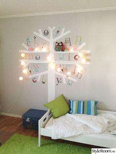 mommo design: IKEA HACKS - Ribba picture ledge tree