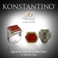 Tomorrow ! Personal Appearance by Konstantino at Neiman Marcus - St. Louis, MO http://www.konstantino.com/index.php/konstantino/common?events
