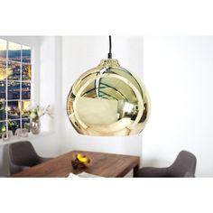 Moderne hanglamp Gouden bal - 35797