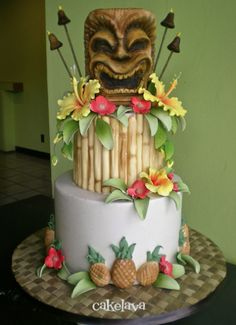 Another Awesome Tiki Cake