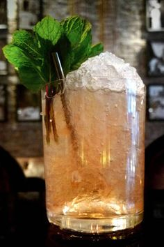 How to make the Coco Chanel cocktail, here: