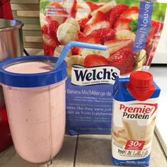 I've posted random protein shake concoctions here and there since I started this account. this is just my current fav! is… I've posted random protein shake concoctions here and there since I started this account. this is just my current fav! Protein Smoothies, Protein Shake Recipes, Smoothie Drinks, Protein Foods, Smoothie Recipes, Yummy Drinks, Healthy Drinks, Gouda, Premier Protein Shakes