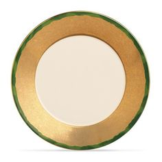 L'Objet Fortuny dinner plate set – Green ($445) ❤ liked on Polyvore featuring home, kitchen & dining, dinnerware, green dinner sets, green dinner plates, l objet dinnerware and green dinnerware