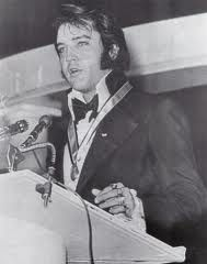 1-9-71:  Elvis is Jaycees Top 10 Young Men Of The Yr On16th he accepts Jaycee award, lst time he actually attended awards ceremony in his honor. When I was a child, ladies & gentleman, I was dreamer read comic books, & was a hero in the movie. Every dream I dreamed has come true 100 times. I learned in life w/o a song, the day would never end; w/o a song, a man ain't got a friend the road would never bend. So I keep singing a song. Goodnight Thank You