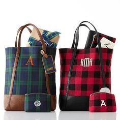 Buffalo Check Tote | Mark and Graham