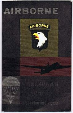 Airborne - Herinneringsboekje uit Veghel, 1959