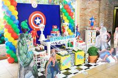 decoração festa hulk - Pesquisa Google