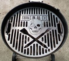 """This is Clint Cantwell's personal grill for his 22 1/2"""" Weber. ON SALE for $119.95 including your custom design"""