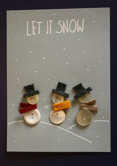 Look at the webpage to read more on Homemade Christmas Card Ideas Christmas Card Crafts, Homemade Christmas Cards, Handmade Christmas Gifts, Christmas Art, Christmas Projects, Homemade Cards, Holiday Crafts, Christmas Decorations, Christmas Ornaments