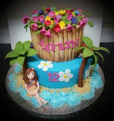 Hawaiin cake