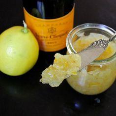 Meyer Lemon Vanilla Bean Champagne Preserves