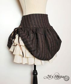 Jupes - site My Oppa Steampunk, Ballet Skirt, Skirts, Fashion, Dressmaking, Skirt, Fashion Ideas, Moda
