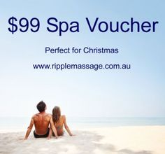 Gift Vouchers for any amount this Christmas from Ripple Massage - instant download #spavoucher #giftvoucher #giftcard