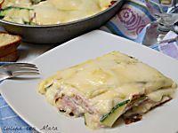 Parmigiana bianca di zucchine in padella leggera e gustosa