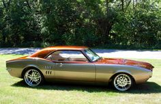 That is a beautiful color. 67 Firebird