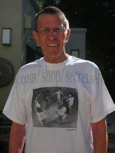 Leonard Nimoy has an etsy shop! I love this.