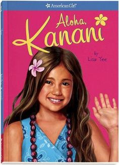Aloha, Kanani is the first book about Kanani Akina. It was included with the doll when she was available to be purchased; it is now available separately. Kanani looks at the calendar hanging beside the cash register; thinking that it has taken forever for summer to arrive, but now that it is finally here she can help out at her parents's Shave Ice and Sweet Treats store every morning. She especially enjoys greeting customers. Kanani's great-grandfather built the store by hand and it w...