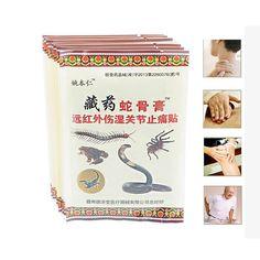 64 Pcs/8 Sacs Patch Soulagement de La Douleur des Muscles Du Cou De Massage Médical Plâtres Orthopédiques Pommade Articulations Orthopédiques Plâtre Relaxation C490