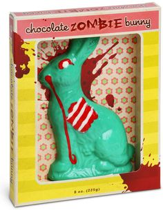 Chocolate Zombie bunny for Easter! @wendieiland