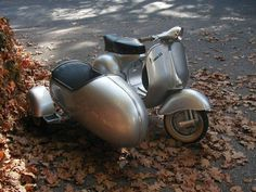 Vespa ~ with sidecar