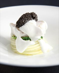 Spaghetti and Calvisius Caviar... The Italian Way! #Gourmet #Recipe #Chef