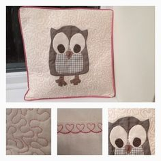 Craft House Magic - owl cushion cover