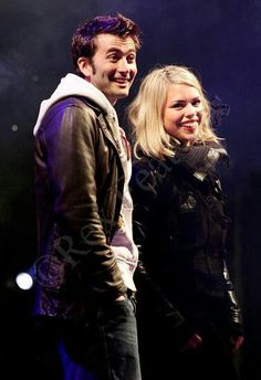 Don't care what you say, this is Ten 2 and Rose happily ever after in the AU. THIS IS REAL TO ME! (: #DoctorWho