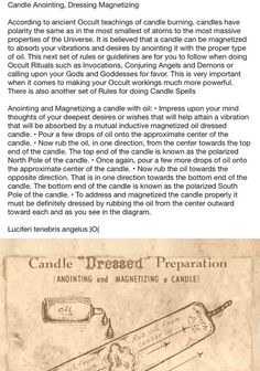 Candle Magic - Anointing Candles Magick Spells, Candle Spells, Witchcraft, Candle Meaning, Easy Spells, Wiccan Magic, Aura Colors, Herbal Magic, Color Magic