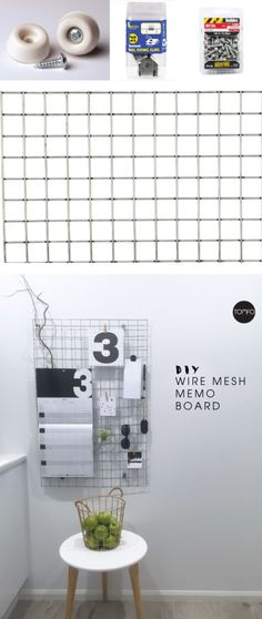 DIY Wire Mesh Board | TOMFO