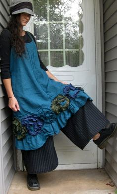 Flouncy Swirl Dress by sarahclemensclothing on Etsy, $149.00