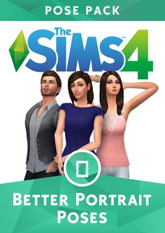 Lana CC Finds — The Sims 4 Better Portraits Pose Pack by...